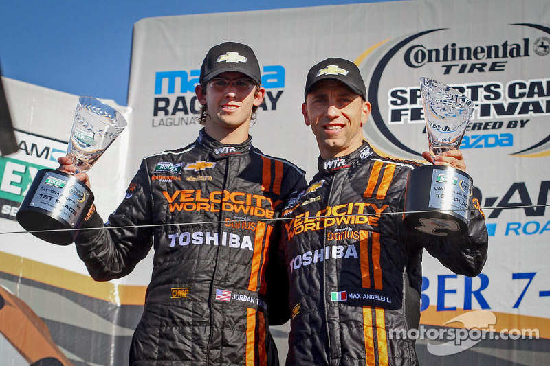 Taylor, Angelelli victorious in Monterey in WTR's Corvette DP