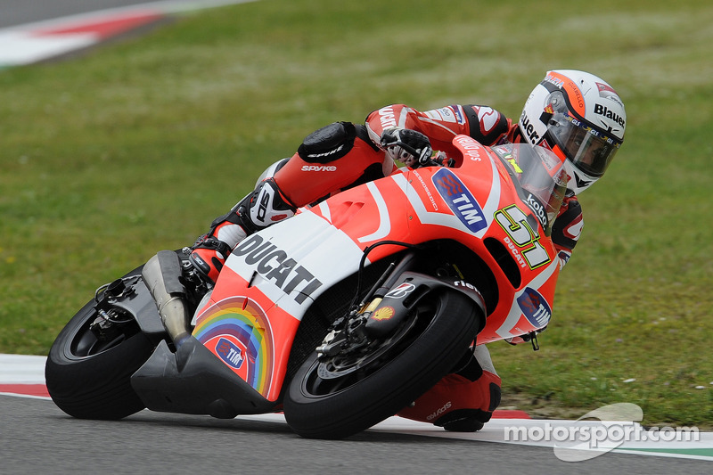 Good start for Michele Pirro at Misano