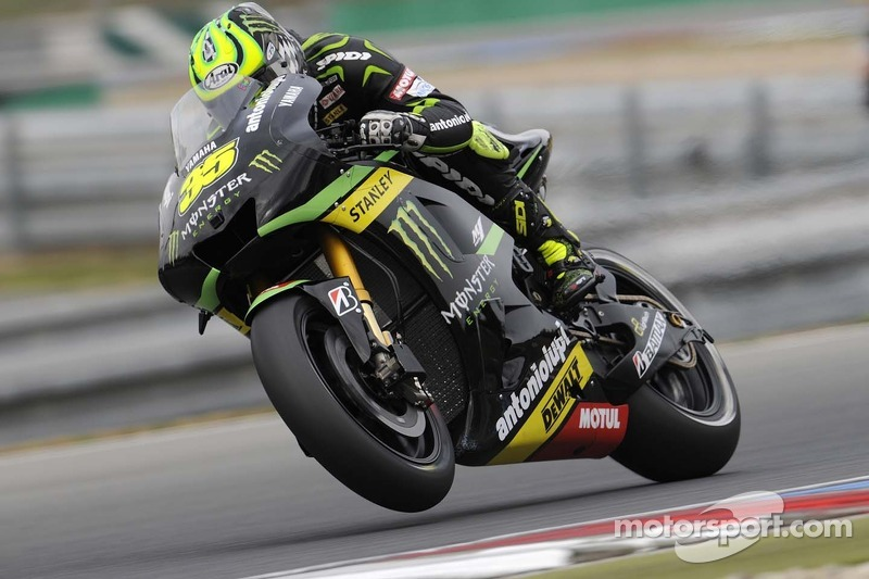 Crutchlow digs deep to claim second row in Misano