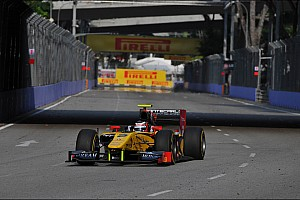 GP2 Race report An excellent 4th place for Richelmi on Race 1 in Singapore