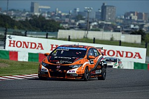 WTCC Qualifying report Honda power to pole position for Suzuka race