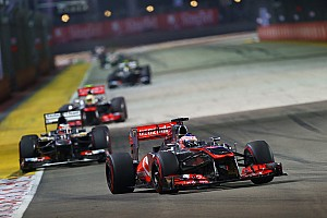 Formula 1 Race report McLaren had chances of podium in Singapore