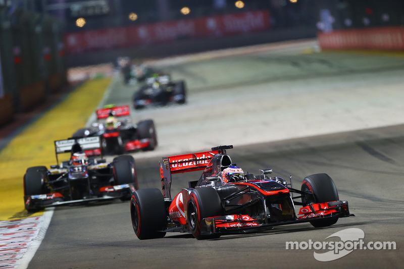 McLaren had chances of podium in Singapore