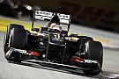 Sauber scored 2 points at the Singapore Grand Prix