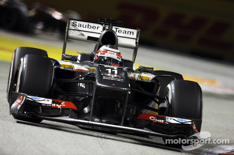 Sauber scored 2 points at the Singapore Grand Prix