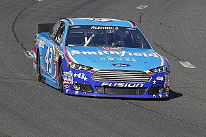 NASCAR Sprint Cup Preview Almirola ready to bring No. 43 to victory lane at Kansas