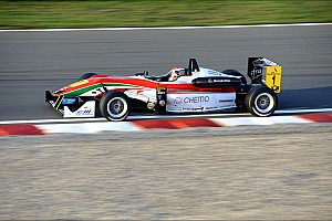 F3 Europe Race report Tough weekend for Raffaele Marciello at Zandvoort