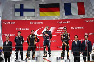 Formula 1 Race report Podium lock out for Renault Power in Korean Grand Prix
