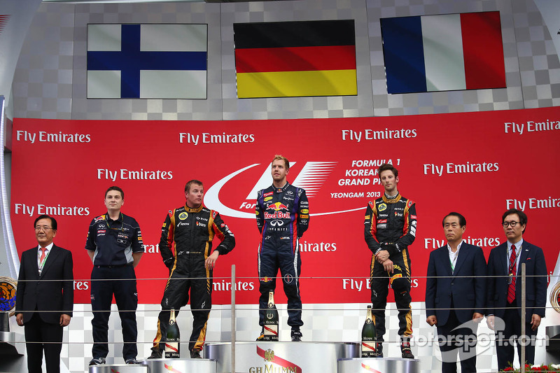 Podium lock out for Renault Power in Korean Grand Prix