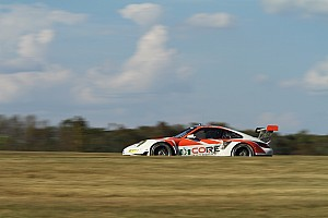 ALMS Race report CORE autosport Porsche 911 GT3 RSR earns best season finish in Virginia