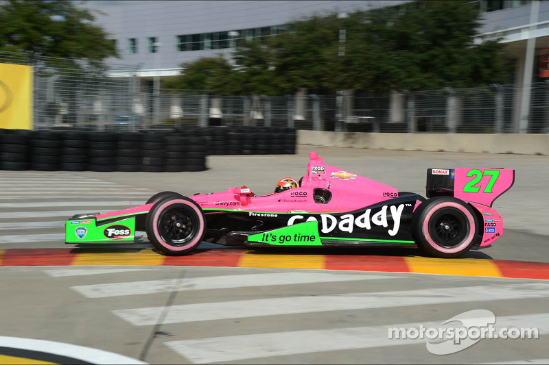 Andretti Autosport hits the streets of Houston for Race 2