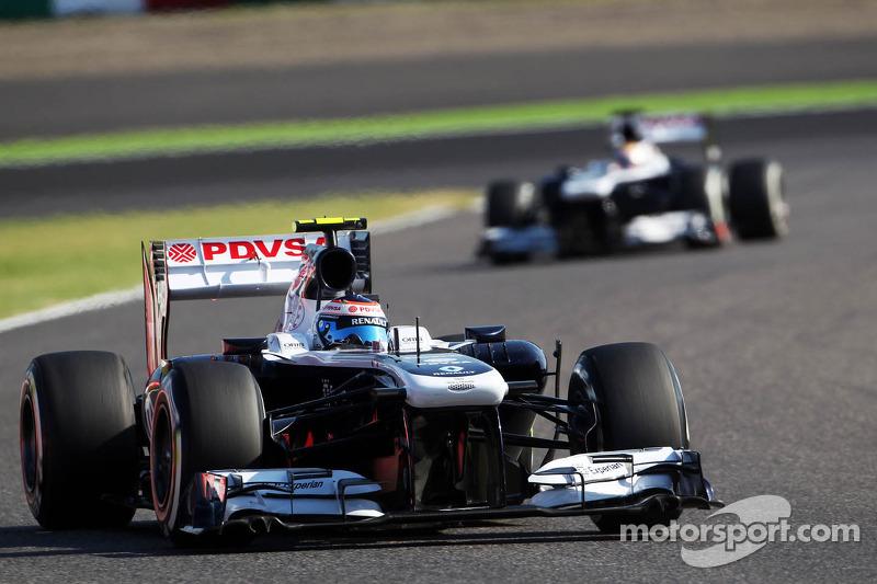 Both Williams drivers miss the Q3 at Suzuka