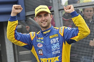 BTCC Breaking news Jordan crowned BTCC Champion 2013