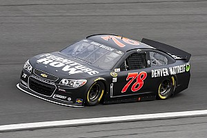 NASCAR Sprint Cup Race report Busch finishes 14th at Charlotte Motor Speedway
