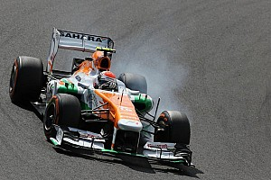 Formula 1 Breaking news Angry Force India says Pirelli made Sauber 'explode'