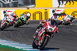 A difficult end to the season for Team SBK Ducati Alstare today at Jerez