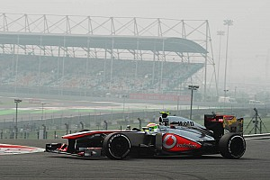 Formula 1 Qualifying report McLaren drivers secure 5th starting row for tomorrows Indian race