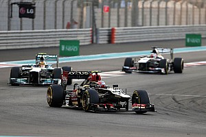Lotus' Grosjean satisfied with Abu Dhabi performance