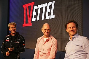 Vettel makes triumphant return to Milton Keynes