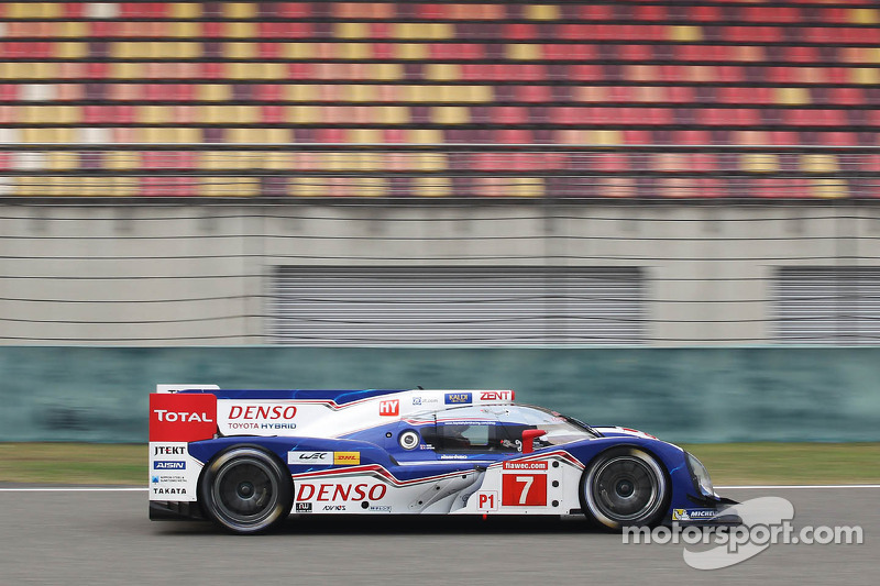 Pole for Toyota Racing in Shanghai