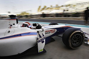 Trident Racing completed the three-day test at Yas Marina circuit