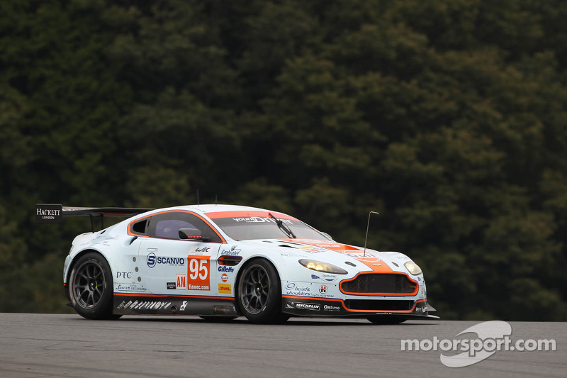 Early end after dominating performance of Young Driver AMR at Shanghai