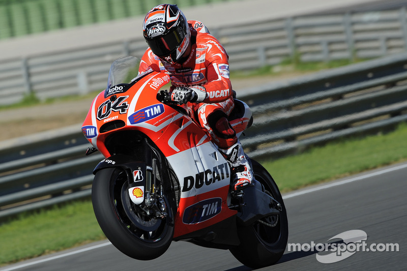 Ducati Team concludes Valencia IRTA post-race test