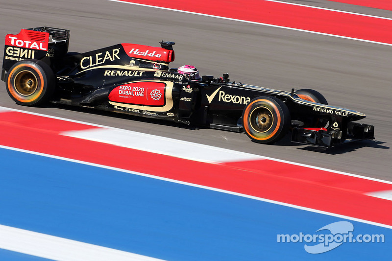 Lotus is top-ten on qualifying for the US GP