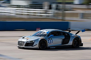 Paul Miller Racing puts new Audi R8 LMS through its initial paces in Sebring testing