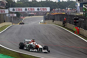 Sahara Force India confirmed at Interlagos its sixth place in the constructors' championship