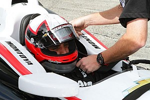 Montoya takes first laps with team Penske at Sebring