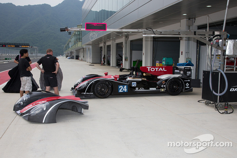 OAK Racing Team Total: A successful private test day at the Sepang circuit