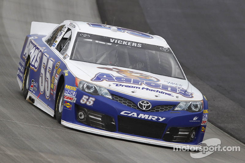 Billy Scott will serve as Brian Vickers' crew chief