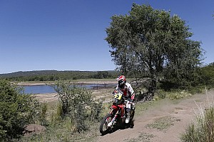 Dakar Stage report Barreda is the best climber, Roma breaks away