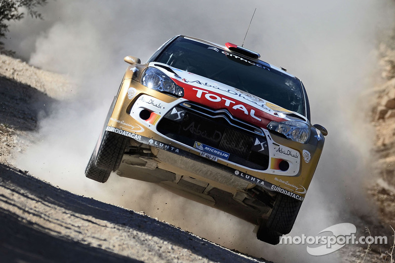 Al Qassimi is hoping the new Citroën can make a powerful start in Monte Carlo