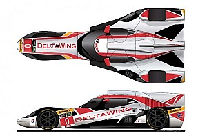 IMSA Preview New livery for DeltaWing unveiled, team prepares for Daytona 24