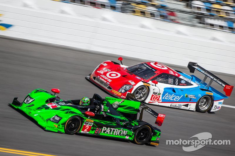 HPD finishes seventh in Daytona debut