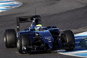 Formula 1 Testing report Williams' Massa happy after his first day test at Jerez