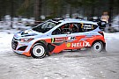 Hyundai drivers enjoys positive start to Rally Sweden