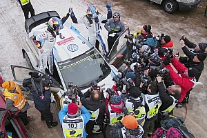 WRC Stage report Latvala claims third Rally Sweden