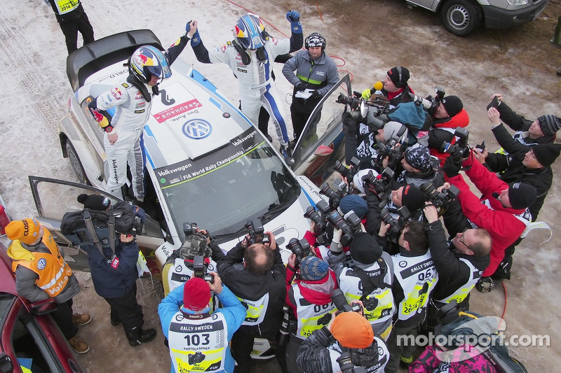Latvala claims third Rally Sweden