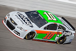 Tony Stewart experienced an engine failure during Practice 2 for the Daytona 500