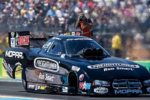 NHRA Qualifying report Hagan will face DSR teammate Beckman in first round Phoenix