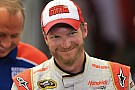 Dale Earnhardt Jr. says the lead is the place to be on Sunday