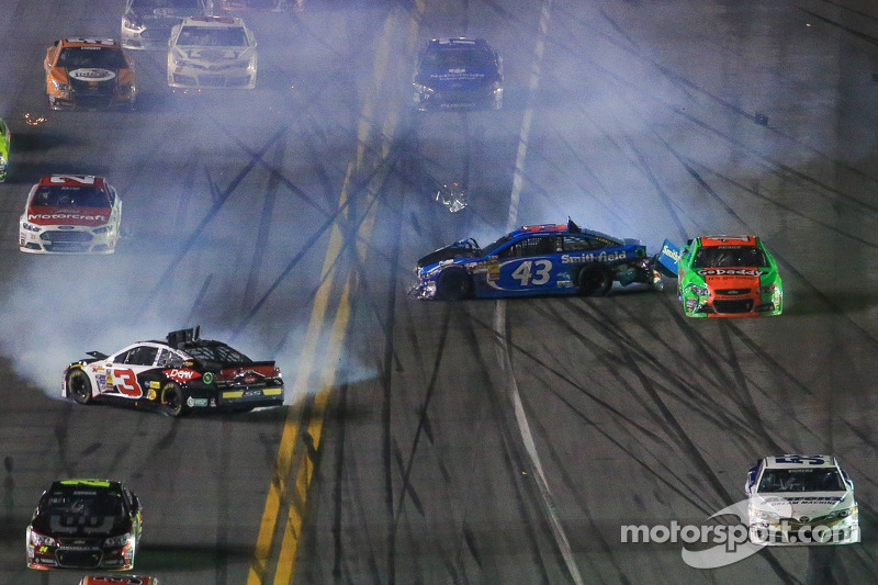 Austin Dillon shakes off rookie mistakes to finish ninth in Daytona 500