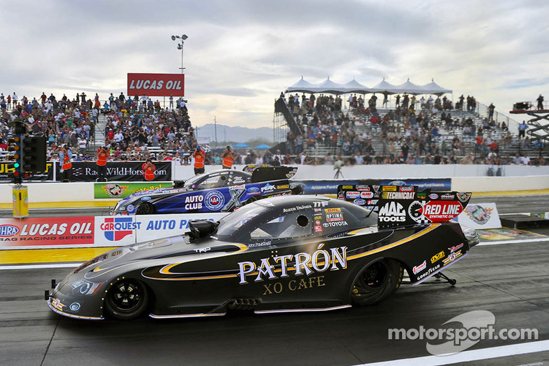 DeJoria, Brown gives Toyota a Nitro sweep at Phoenix