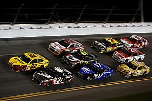 NASCAR Sprint Cup Race report Trouble finds Busch in Daytona 500