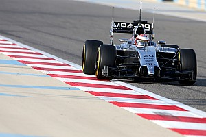 McLaren's Magnussen focusing on mileage and reliability on today's test at Bahrain