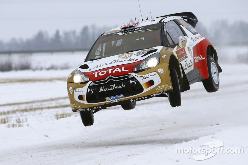 The Citroën DS3 WRCs reach for the sky in Mexico