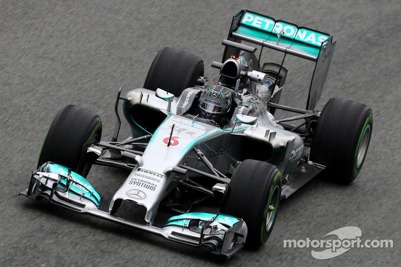 Mercedes advances 2014 Australian Grand Prix